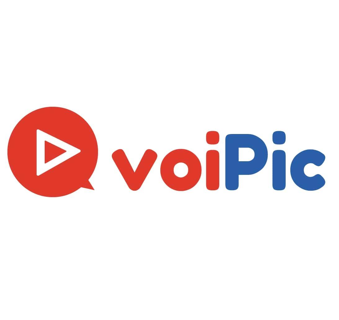 漫画動画制作代行「voiPic」ロゴ