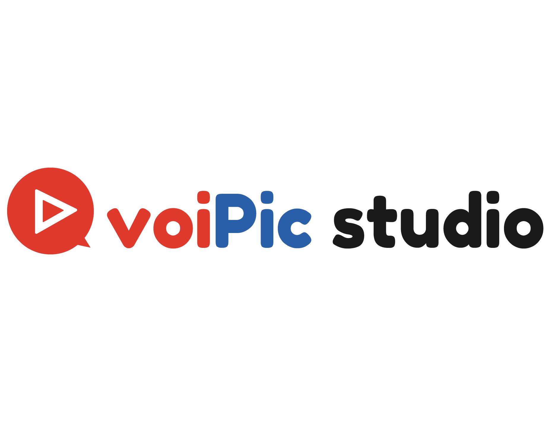 漫画動画チャンネル運用代行「voiPic studio」ロゴ
